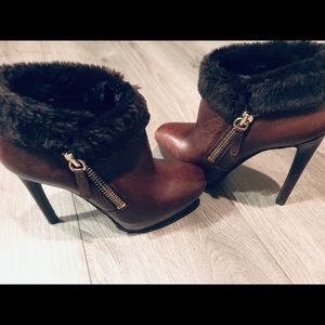 Guess High Heel Platform Booties